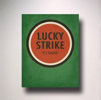 Imagen de cartel Lucky Strike