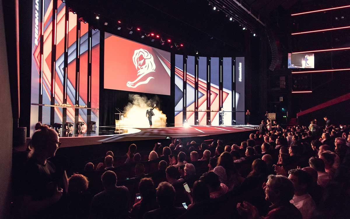 Entrega de premios Festival Cannes Lions