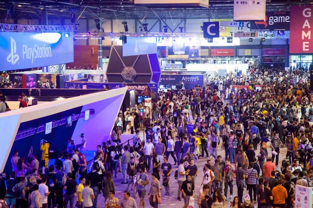 marcas en Madrid Games Week 2015