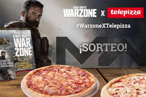 activision telepizza call of duty